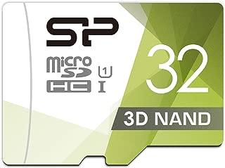 シリコンパワー microSD カード 32GB class10 UHS-1対応 最大読込85MB/s Nintendo Switch 動作確認済 3D Nand 2019年モデル 【Amazon.co.jp限定】