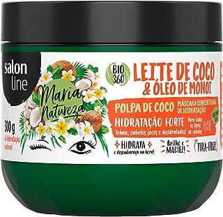Creme Tratamento 300G Maria Natureza Leite de Coco Unit, Salon Line