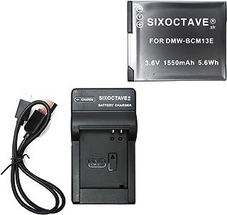 【str】パナソニック残量表示急速完全互換バッテリーDMW-BCM13と充電器USBチャージャーDMW-BTC11のセットLUMIX DMC-TZ40 / DMC-FT5 / DMC-TZ60 / DMC-TZ55 / DMC-TZ57 / D...
