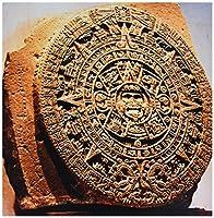 3dRose ct_86737_4 メキシコシティ、サンストーンはアステカカレンダーと呼ばれます - SA13 MGL0000 - ミヴァストック - セラミックタイル 12インチ