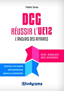 Réussir l'UE 12 au DCG Anglais des affaires