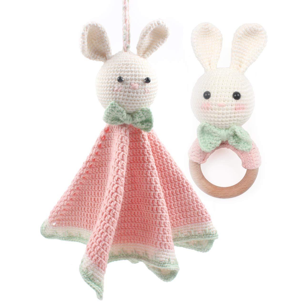 Knit Bunny Blanket Pattern | 1000 Free Patterns