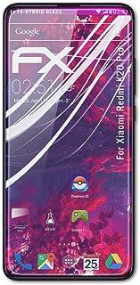 atFoliX Plastglasskyddsfilm är kompatibel med Xiaomi Redmi K20 Pro Glasskydd, 9H hybridglas FX Skyddsglas av plast