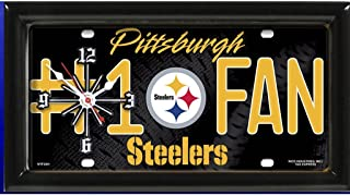 Pittsburgh Steelers NFL #1 Fan Clock