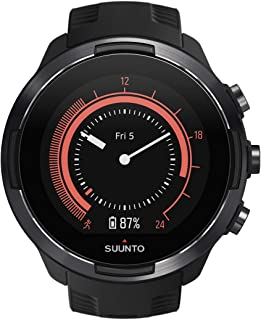 Suunto 9 Multisport GPS Watch with BARO and Wrist-Based Heart Rate (Black)