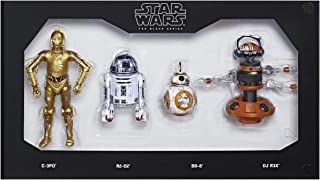 "Hasbro Disneyland Star Wars Galaxy's Edge Black Series Droid Depot 6"" Figure 4-Pack Theme Park Exclusive"