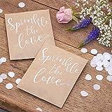 Ginger Ray-Rustic Country Confetti-Papel de seda