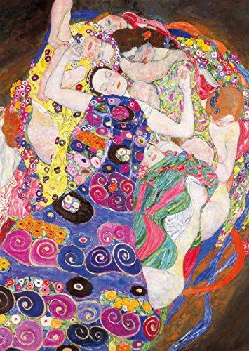 Spiffing Prints Gustav Klimt - The Maiden - Large - Matte Print