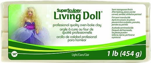 sculpey doll clay