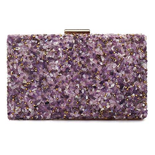 EROUGEevening bag - handtaschen Damen, Violett (violett), Einheitsgröße