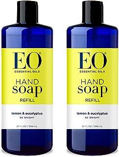 EO Hand Soap, Lemon Eucalyptus, 32 Oz Refill, 2Count