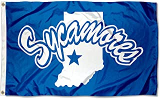 College Flags and Banners Co. Indiana State Sycamores Flag
