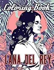 Image of Lana Del Rey Coloring. Brand catalog list of .