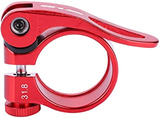 Abrazadera Cierre Rapido ROJO de Aluminio para Tija y Cuadro Sillin de 28,6 mm Bicicleta 3686
