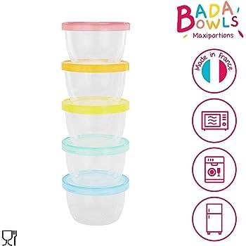 Babymoov Babybol Lot de 4 Pots de Conservation Herm/étiques pour B/éb/é 120 ml