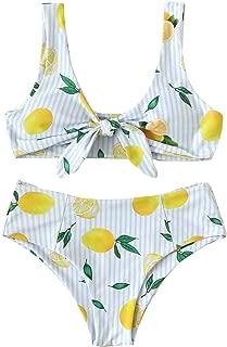Best lemon print bathing suit Reviews