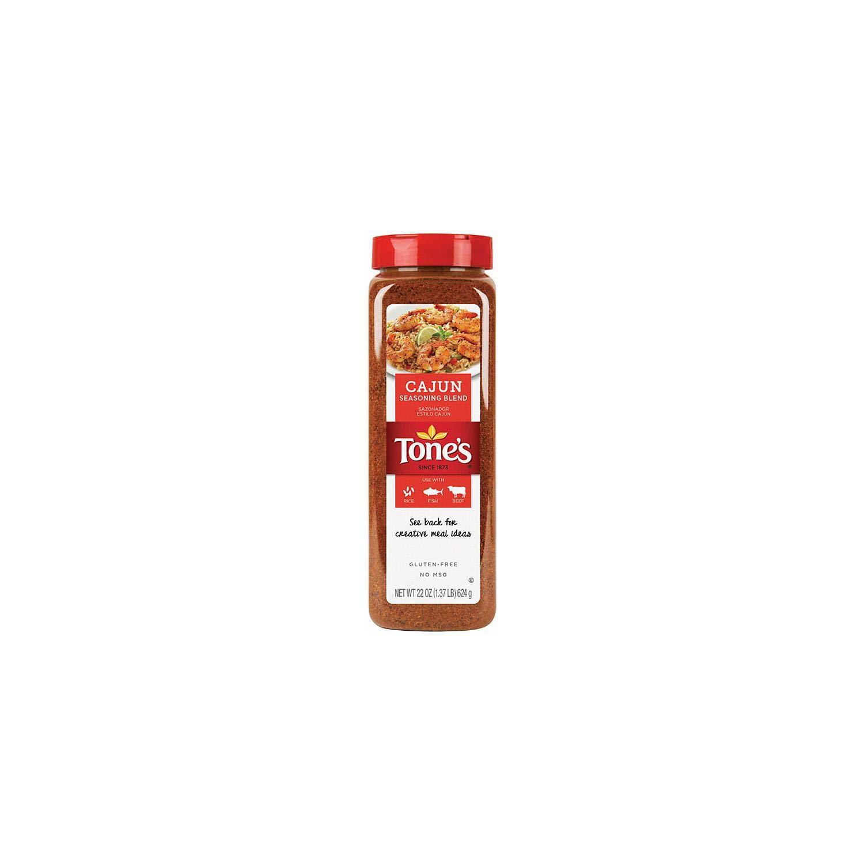 Tones Popular product Cajun Seasoning -Value Spasm price 5 oz. shaker 22 Pack Each