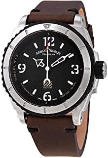 Armand Nicolet Gents-Wristwatch S05-3 Military Analog Automatic A713PGN-NR-PK4140TM