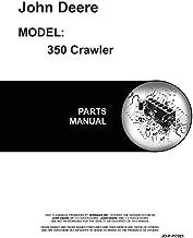 John Deere 350 Crawler Parts Manual