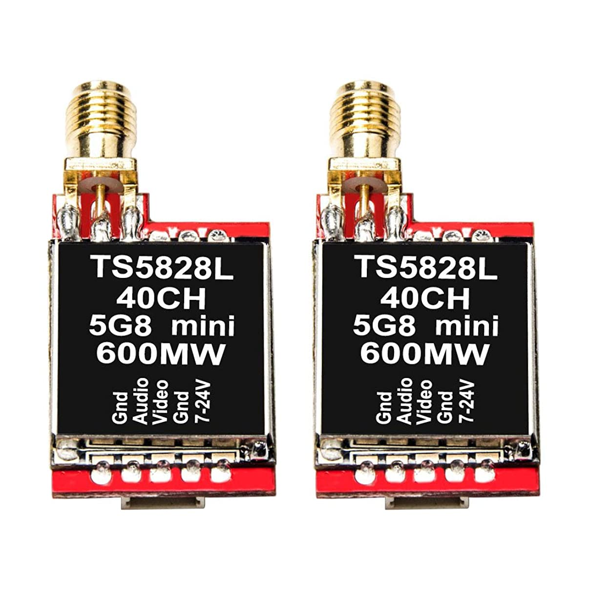 Wolfwhoop FPV 5.8G 600MW WT5828L Mini Wireless Video Transmitter for Drone - 2pcs