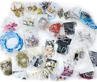 40~80 Pairs High End Quality Earrings Must-have Wholesale Jewelry Lot Various Styles and Colors