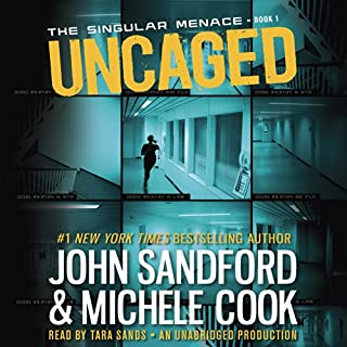 Uncaged audiobook cover art