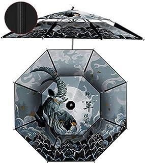 Sombrillas Pesca De Estilo Chino, Pesca Grande, Universal Anti-Ultravioleta, Engrosada, A Prueba De Lluvia De Doble Capa, Protección Solar Y Sombreado