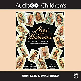Lives of the Musicians cover art