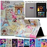 Kindle Fire HDX7 Case, Artyond Ultra Lightweight PU Leather Case Flip Stand With [Auto Wake/Sleep Feature] Protect Slim Folio [Card Slot] Smart Case For Amazon Kindle Fire HDX 7 2013 Version(Scenic)
