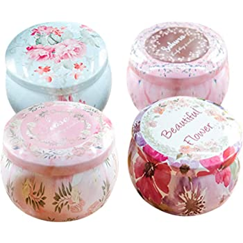 Round Containers with Slip-On Lids for Party Favors Gifts Spices Opeshar 28 PCS DIY Candle Tins Craft Tools Candle Making