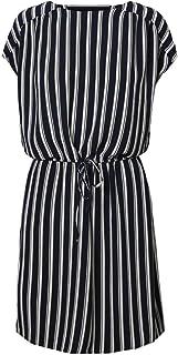 فستان قصير في ام ساشا بالي بكم قصير للنساء من فيرو مودا، متوفر دائما في المخزون
