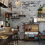 Papel Pintado Pared De Cemento De /Óxido Industrial Estilo Vintage Fotomural 3D Mural Pared Moderno Wallpaper,200Cmx140Cm