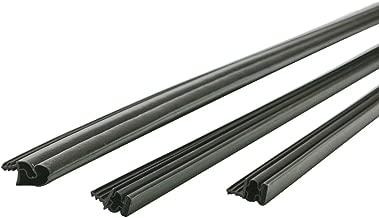 M-D Building Products 01636 36 81-Inch Steel Door Magnetic Weather-Strip, 3' x 6.75', Brown