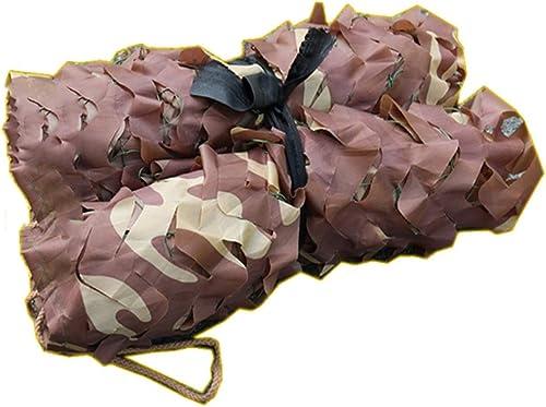 GGYMEI Filet De Camouflage Désert Camouflage Crème Solaire Sol Couvrant Décoration Oxford, 34 Tailles, Support Personnalisation (Couleur   Multi-Couleuruge, Taille   7x10m)