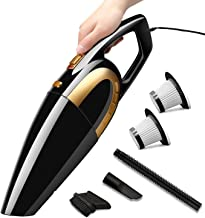 Luckybay Handheld Cordless Vacuum Cleaner 120W, 8000PA Wet and Dry Powerful Cyclonic Suction Lightweight Wireless Vacuum C...