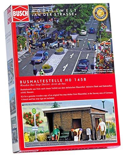 Busch 1458 Bushaltestelle, véhicule