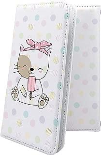 X02HT ケース 手帳型 猫 ネコ エックスエイチティー 手帳型ケース 猫柄 x01 ht かわいい 可愛い kawaii lively