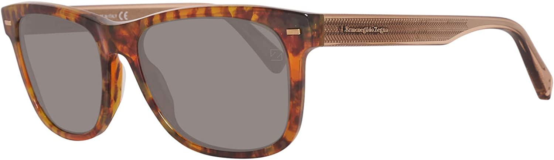Sunglasses Ermenegildo Zegna EZ 28 EZ0028 55N coloured havana   green