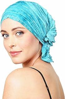 Chemo Beanies ® Molly by (Aqua Dye Ruffle)