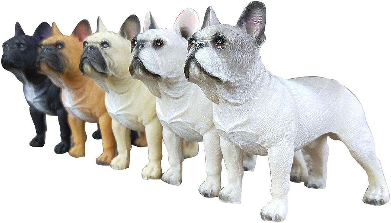 TOYMYTOY Bulldog Figuren Spielzeug Auto Dashboard Dekorationen - Harz, 5er Set B07GNJRMPP Modisch  | Shop
