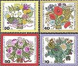 FGNDGEQN Colección de Sellos Bielorrusia Sellos alemanes West Berlin 1974 Fondo de Bienestar Social Four Seasons Ramo Spring y Summon 4 Nuevo