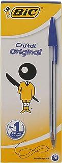 BIC Cristal Ballpoint Pen Medium Point (10 Pcs)