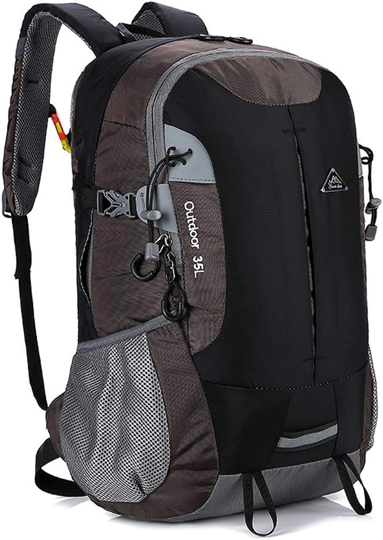 Leichter Rucksack, Unisex Ultraleicht Reflektierender Effekt Wanderruckscke Multi-Pocket Outdoor Paket Geeignet Nacht und Tagsübe Im Freien Reisen Rundgang Camping Reiten Fahrrad Wasserdicht