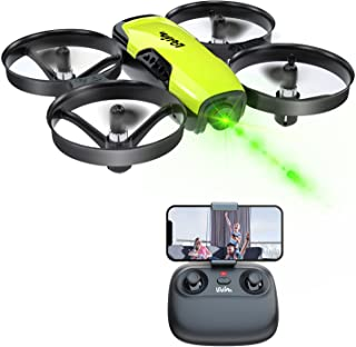 Loolinn   Drone with Camera for Kids Gift - Mini Drone, RC Quadcopter with Adjustable Camera / FPV Real Time Transmission ...