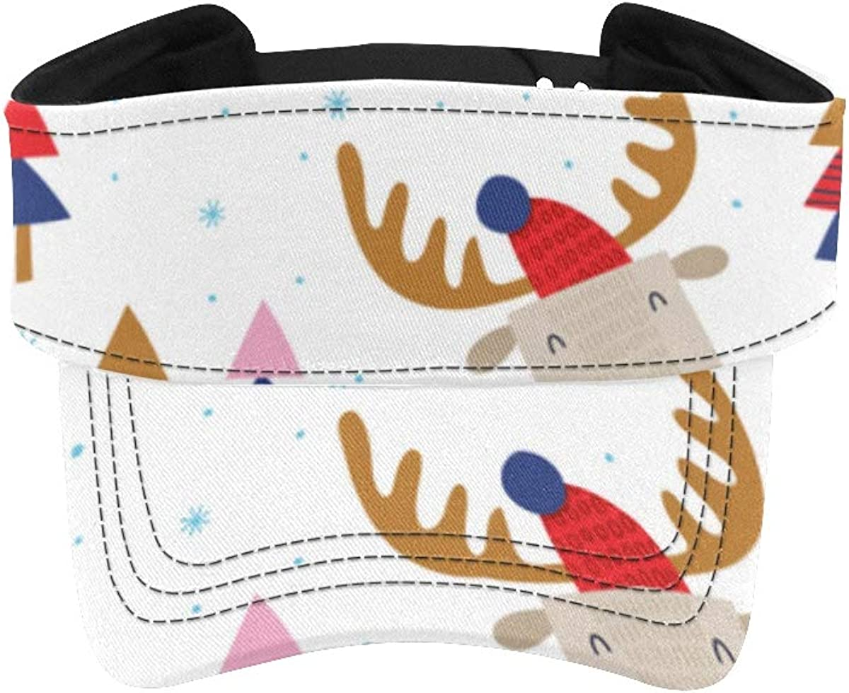 Hats for Max 42% 4 years warranty OFF Men Running Funny Elk Cute Childish in The Girls Forest