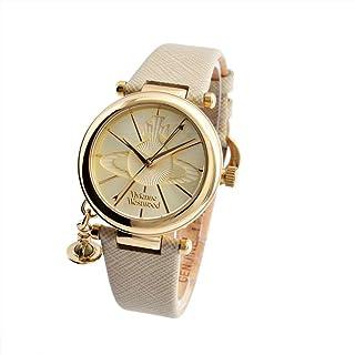 [ヴィヴィアンウエストウッド] 腕時計 レディース Vivienne Westwood VV006GDCM クリーム ゴールド シルバー [並行輸入品]