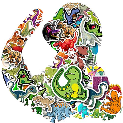 Stickers for Kids - Waterproof Dinosaur Animal Stickers Pack for Water Bottle Laptop Bike DIY, Personalised Stickers for Girls and Boys