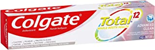 COLGATE Total Advanced Clean Antibacterial Fluoride Whole Mouth Health Multi Benefit Toothpaste, 200 g