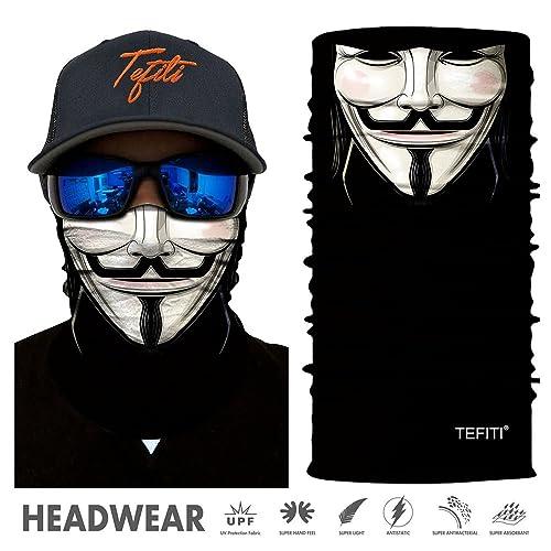 Men Aeykis Riding Biycle Bandana Full Face Mask Tube Multi Functional Bandana