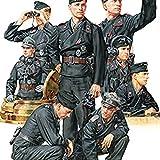 タミヤ 1/35 ミリタリーミニチュアシリーズ No.354 ドイツ国防軍 戦車兵セット プラモデル 35354